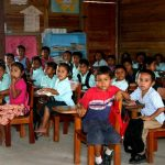 first bladen rc school classroom belize